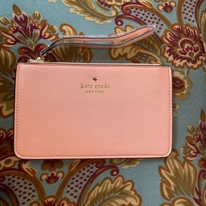 Pink lemonade kate spade light pink wristlet